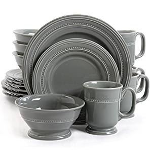 Gibson Elite Barberware 16-piece Dinnerware Set