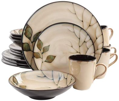 Gibson Elite Carolton 16 Piece Dinnerware Set
