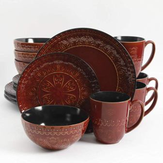 Gibson Elite Milanto 16 piece Dinnerware Set