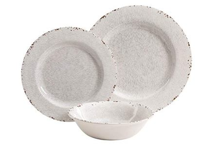 Gibson Studio Mauna 12-pc Melamine Dinnerware Set