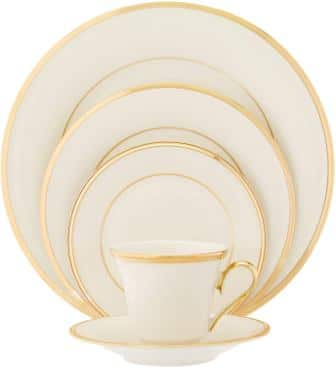 Lenox Eternal Gold-Banded Fine China