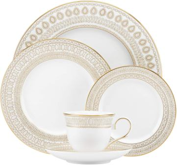 Lenox Marchesa Gilded Pearl 5 Piece Place Setting