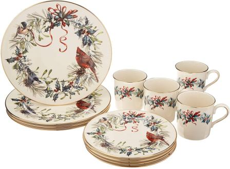 Lenox Winter Greetings Dinnerware Set