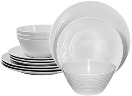 Melamine Dinnerware Set for 4
