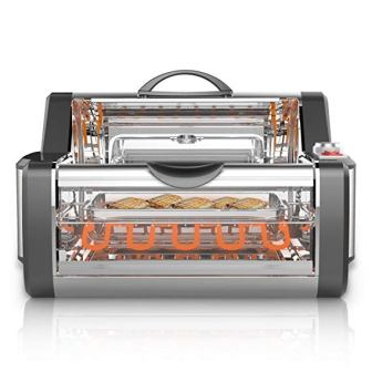 NutriChef Countertop Rotisserie Oven