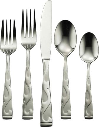 Oneida Tuscany 65-Piece Flatware Set