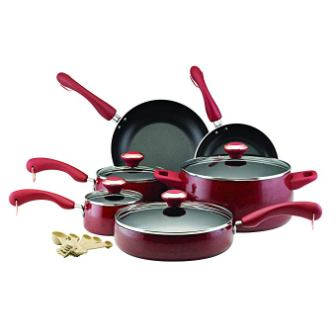 Paula Deen Signature 12512 Non-stick Cookware Pot and Pans Set