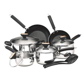 Paula Deen Stainless Steel 76362 Signature Cookware Set