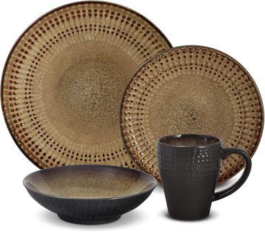 Pfaltzgraff Cambria 16-Piece Stoneware Dinnerware Set- Pfaltzgraff