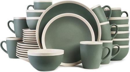 Stone Lain Stoneware Dinnerware Set- Stone Lain