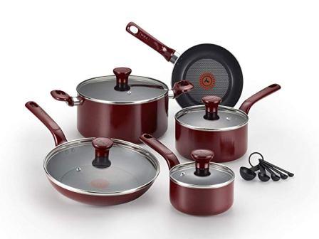 T-fal Excite Non-stick Thermo-spot C514SE Cookware Set