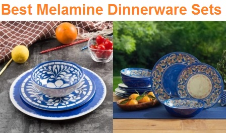 Top 15 Best Melamine Dinnerware Sets in 2019