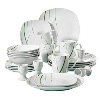 VEWEET Porcelain Dinnerware Set