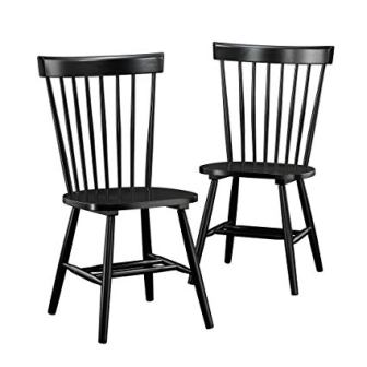 Sauder New Grange Spindle Back Chairs