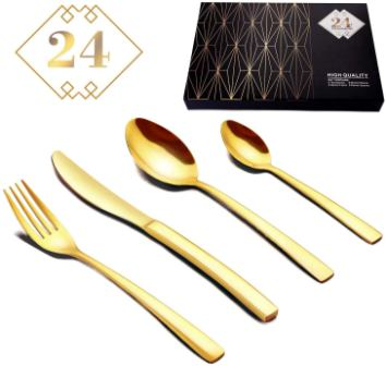 Silverware Set with High-grade Gift Box