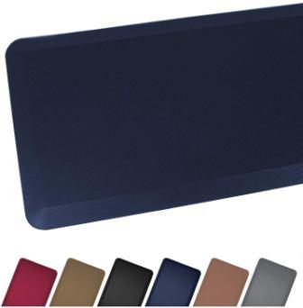 Anti-Fatigue Comfort Floor Mat by Sky Mats (20x32x3/4-Inch, Dark Blue)