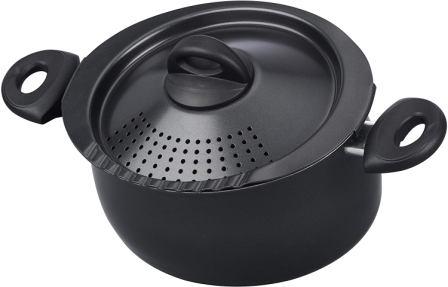 Bialetti 07265 Oval 5.5 Quart Pasta Pot
