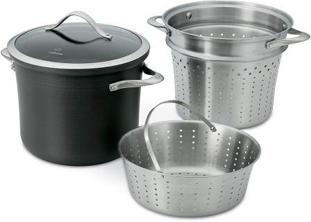 Calphalon Pasta Pot with Steamer