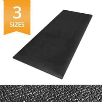 Ergocell Kitchen Anti Fatigue Mat – Memory Foam Kitchen Mat Black – 24″ x 72″