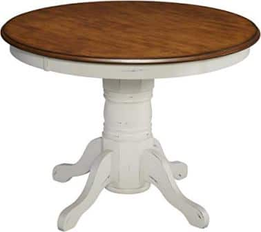 French Countryside Round Pedestal by Home Styles