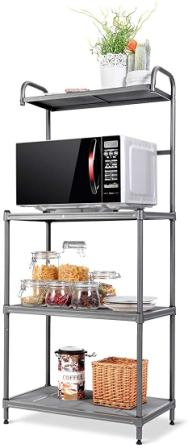 Giantex 4-Tier Kitchen Microwave Storage Rack