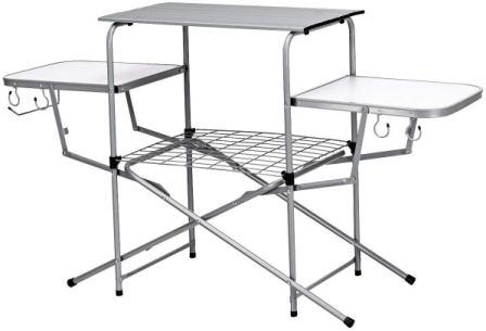 Giantex Aluminum Folding Grill Table