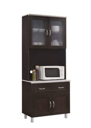 Hodedah Kitchen Cabinet