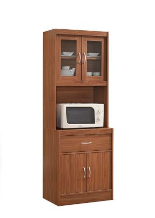 Hodedah Long Standing Kitchen Cabinet
