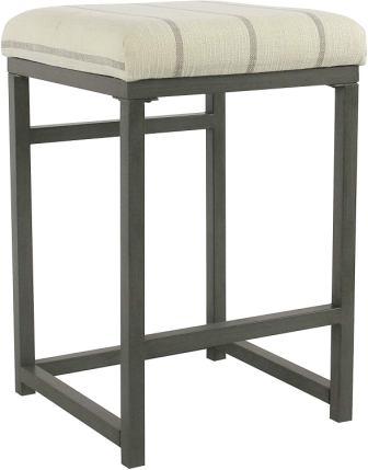 HomePop Backless Counter Barstool