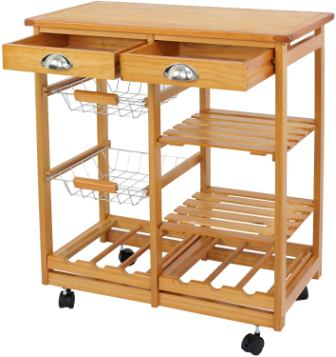 Nova Microdermabrasion Utility Kitchen Cart