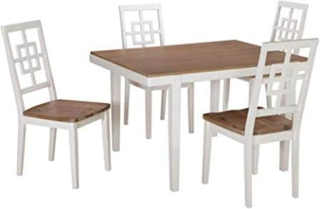 Signature Design By Ashley Brovada Rectangular Dining Room Table Set