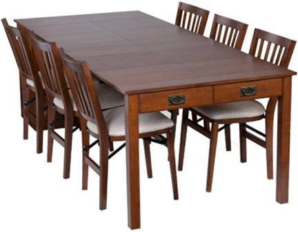 Stakmore Extendable Dining Room Table