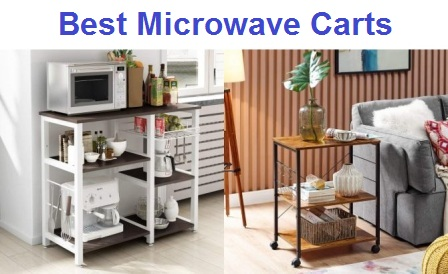 Top 15 Best Microwave Carts in 2020