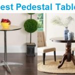Top 15 Best Pedestal Tables in 2020 - Complete Guide