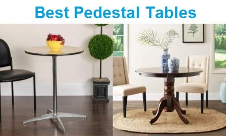 Top 15 Best Pedestal Tables in 2020