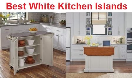 Top 15 Best White Kitchen Islands in 2020