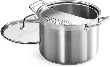 Tramontina 80120/509DS Lock & Drain Pasta Cooker Pot