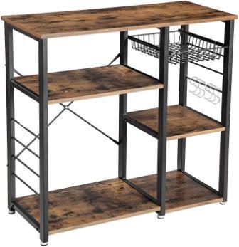 VASAGLE Industrial Kitchen Rack