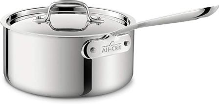 All-Clad Stainless Steel Sauce Pan