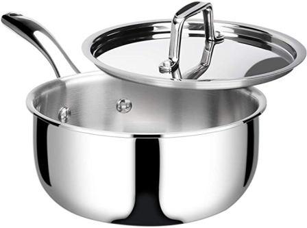 Duxtop Whole-Clad Tri-Ply Saucepan