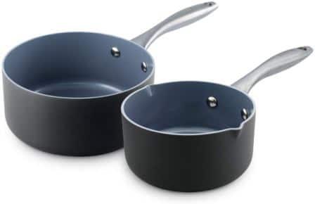 GreenPan Lima Ceramic Non-Stick Saucepan Set