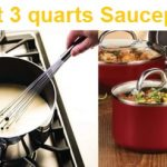 Top 15 Best 3 Quarts Saucepans - Complete Guide & Reviews 2020