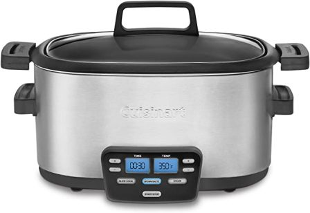 3-IN-1 COOK CENTRAL® MULTI-COOKER MSC-600 BY CUISINART