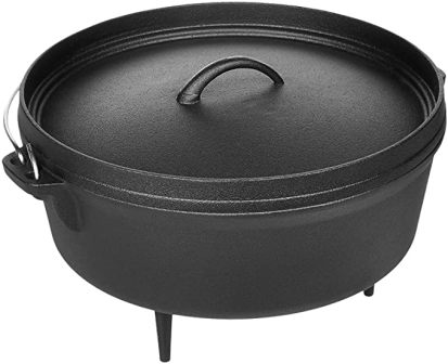 AmazonBasics ZS111 Pre-Seasoned Cast Iron Dutch Oven