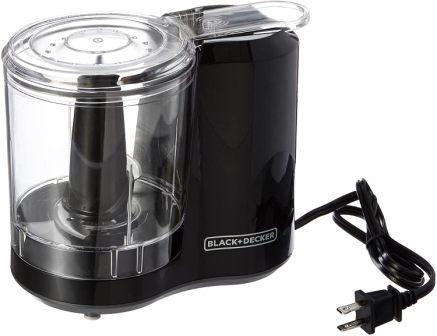 BLACK+DECKER 3-Cup Electric Food Chopper