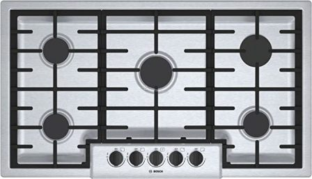 Bosch 500 Series 36-inch Gas Cooktop