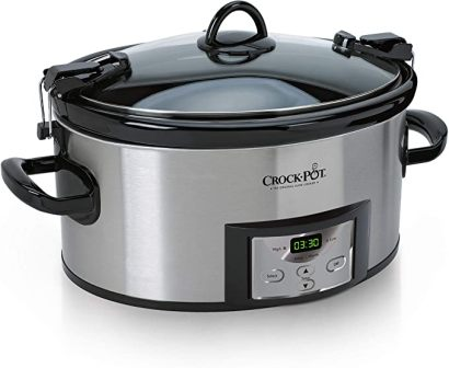 COOK AND CARRY PROGRAMMABLE SLOW COOKER SCCPVL610-S-A BY CROCK-POT®
