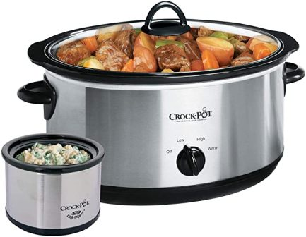 CROCK-POT® MANUAL SLOW COOKER SCV803-SS