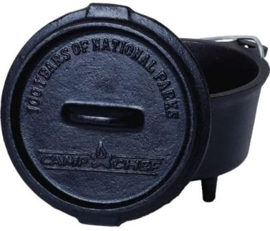 Camp Chef DO5 Cast Iron Mini Dutch Oven