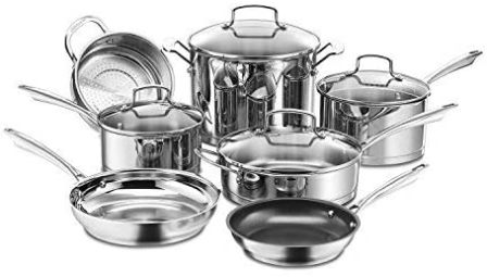 Cuisinart 11-Piece Professional Series Cookware Set (89-11)